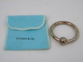 Tiffany & Co Sterling Silver Baby Teething Ring