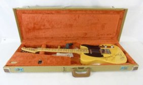 Bruce Springsteen Autographed Fender Elec. Guitar