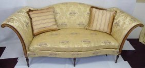 Contemporary Southwood Upholstered Rolled Arm Sofa
