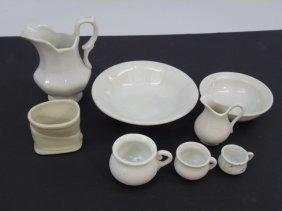 Antique Dollhouse / Fashion Doll Porcelain Items