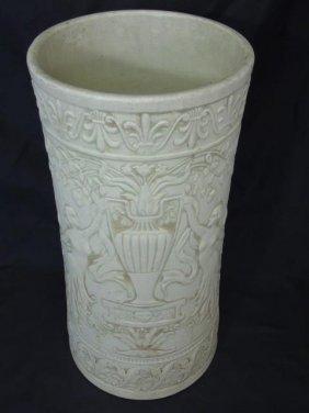 Antique Weller Pottery Umbrella Stand
