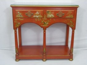 Baker Furniture Asian Style Console Cabinet