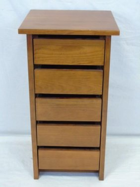 Stickley Mission Style End Table With 5 Drawers