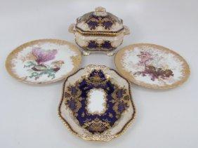 Antique English Hand Painted Porcelain