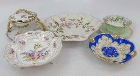 Assorted Antique Porcelain Serving Items