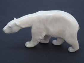 Porcelain Royal Copenhagen Polar Bear