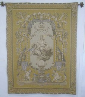 Italian Renaissance Style Woven Wall Tapestry