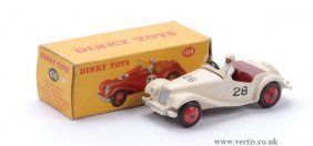 Dinky No.108 MG Midget Sports Car