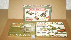 French Meccano Late Issue Sets