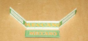 "Meccano Card 12"" Ruler"