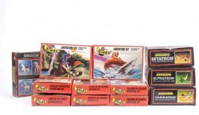 Airfix Eagles Adventure Sets & Micronauts Toys