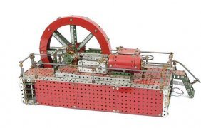 "Meccano ""Bromo"" Steam Engine"