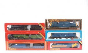 OO Gauge Steam And Diesel Locos