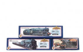 Bachmann - A Trio Of BR (MR) Steam Locos