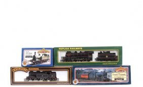 OO Gauge BR (ER) Black Livery Steam Locos