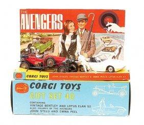 "Corgi No.GS40 ""The Avengers"" 2-piece Gift Set"