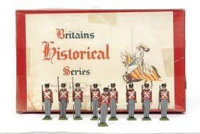 Britains-Set1518-British Inf Waterloo [Post War]