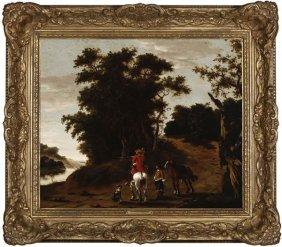 Dutch School, 18th / 19th Century, Cavalier, Oil