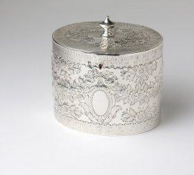 A George III Sterling Silver Tea Caddy