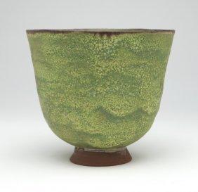 A Beatrice Wood (1893-1998 Ojai, Ca) Pottery Bowl