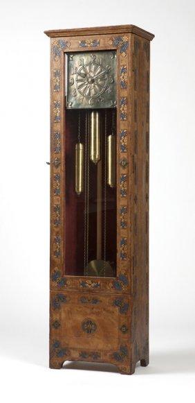 A Kienzle German Arts & Crafts Tall-case Clock