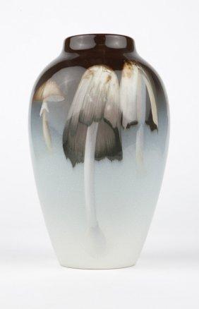 Rookwood Iris Glaze Pottery Vase, Carl Schmidt