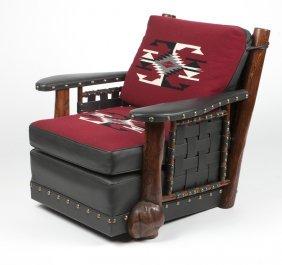 A Molesworth-style Club Chair