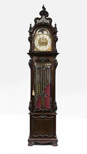 A S. Smith & Sons Ltd. Tall-case Clock