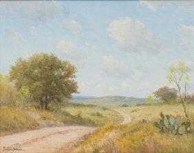 Porfirio Salinas (1910-1973), Cactus In S. Texas, Oil