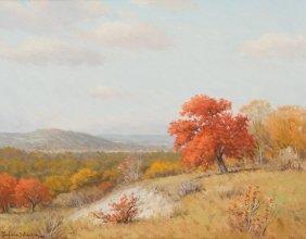 Porfirio Salinas (1910-1973), Texas Hill Country, Oil