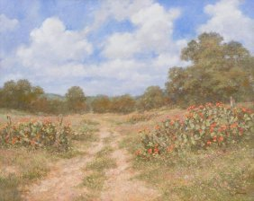 "Robert Hamman, ""the Path Home"", 2015, Oil On Canvas"