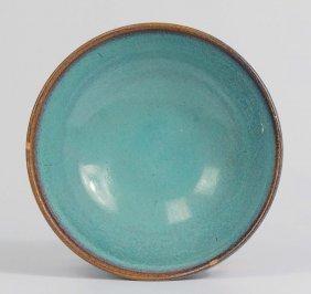 Harding Black (1912-2004), Turquoise Bowl, 1956