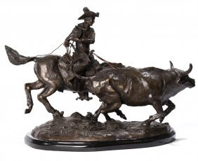 "C.m. Russell (recast), ""bolter"", Bronze"