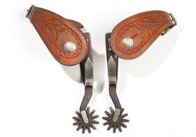 Kelly Bros. Single-mounted Spurs, C. 1920s