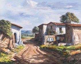 """Jose Vives-atsara (1919-2004), """"calle Del Pueblo"""", 1978"""