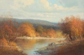 G. Harvey (b. 1933), Palette Of Autumn, 1975, Oil