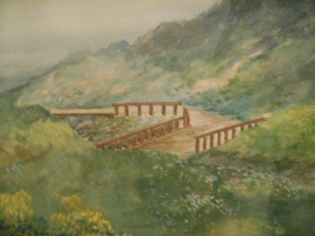 L Suzuki Watercolor