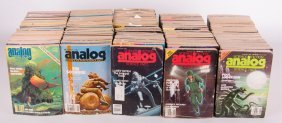 1980 Analog Science Fact Science Fiction Magazines