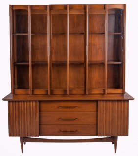 Walnut China Hutch