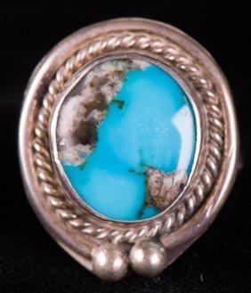 Southwestern Old Pawn Turquoise Ring