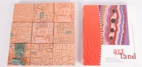 Hand Made Clay Tile Artwork & Art Book