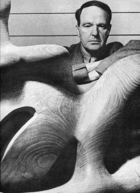 Bill Brandt - Henry Moore - Vintage Photogravure