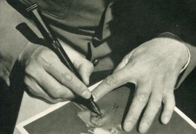 Hoffmann, Heinrich - Signing