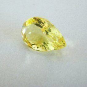 Loose Natural Lemon Topaz Pear Shape 9.82ct