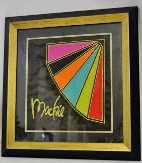 Bob Mackie 1/1 Silk Trade Show Eau De Toilette Banner