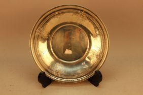 Bailey Banks & Riddle Co. Sterling Silver Dish