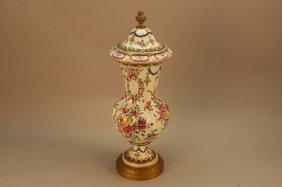 19th C. French Samson Porcelain Vase