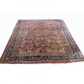 Room Sized Antique Persian Rug