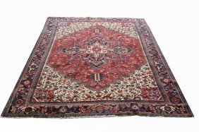 Semi Antique Room Size Persian Rug