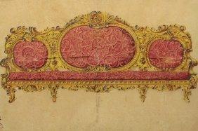 Angiolo Barbetti (1805-1873) Furniture Design